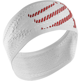 Compressport On/Off Hoofdband, white